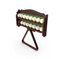 Russian Billiard Balls Stand PNG & PSD Images