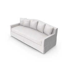 Traditional 4 Seater Sofa PNG & PSD Images