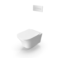 Antonio Lupi Cabo Wall Toilet PNG & PSD Images