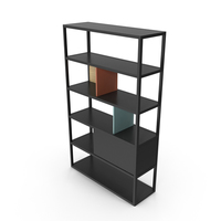 Modern Bookcase PNG & PSD Images