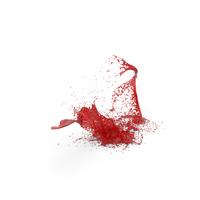 Red Liquid Splash PNG & PSD Images