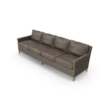 Contemporary 4 Seater Sofa PNG & PSD Images