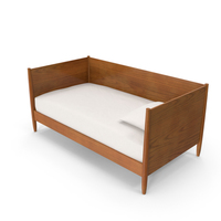 Mid-Century Modern Daybed PNG & PSD Images