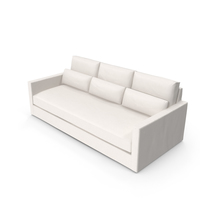 Transitional 3 Seater Sofa PNG & PSD Images