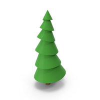 Lowpoly Pine Tree PNG & PSD Images