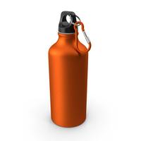 Aluminum Water Bottle 600ml PNG & PSD Images