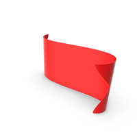 Red Banner PNG & PSD Images