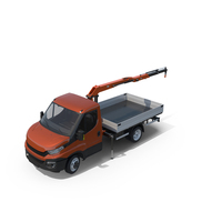 Small Crane Truck PNG & PSD Images