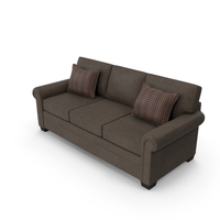 Classical 3 Seater Sofa PNG & PSD Images