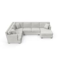 Transitonal Sectional Sofa PNG & PSD Images