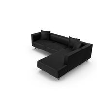 Modern Sectional/Modular Sofa PNG & PSD Images
