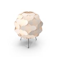 Scandinavian Table Lamp PNG & PSD Images
