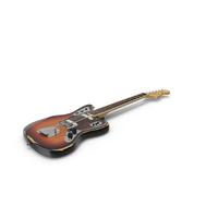 Fender Jaguar Sunburst PNG & PSD Images