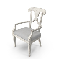 Classical Arm Chair PNG & PSD Images