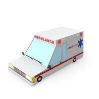 Cartoon Ambulance Vehicle PNG & PSD Images