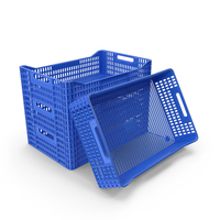 Plastic Crates PNG & PSD Images