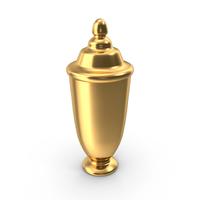 Gold Urn PNG & PSD Images