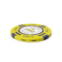 Monte Carlo $1000 Chip PNG & PSD Images