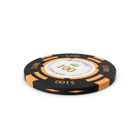 Monte Carlo 100 Dollar Chip PNG & PSD Images