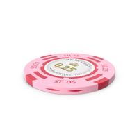 Monte Carlo 25 Cent Chip PNG & PSD Images