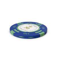 Monte Carlo $50 Chip PNG & PSD Images