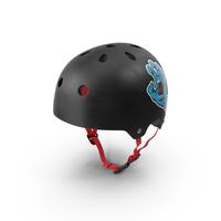 Skateboard Helmet Black PNG & PSD Images