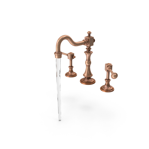 Classical Bathroom Sink Fixture PNG & PSD Images
