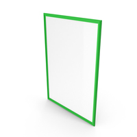 Picture Frame Green PNG & PSD Images