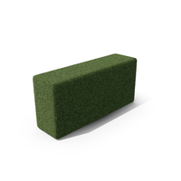 Topiary Box Long PNG & PSD Images