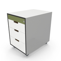 Office Drawer with Lock PNG & PSD Images
