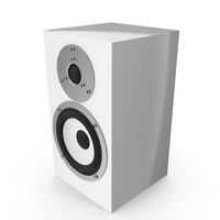White Audio Speaker PNG & PSD Images
