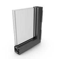 Aluminum Window Profile PNG & PSD Images
