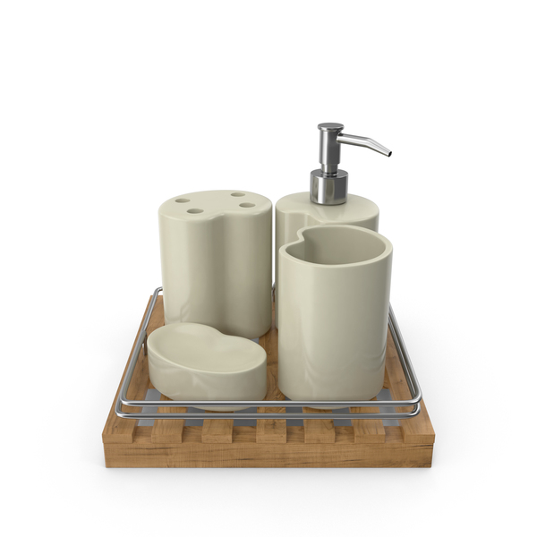 Bathroom Accessories Set PNG & PSD Images
