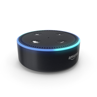Amazon Echo Dot (2nd Generation) PNG & PSD Images
