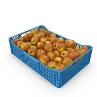 Gala Apple Crate PNG & PSD Images