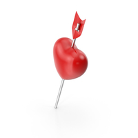 Heart Push Pin PNG & PSD Images