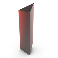 Red Prism PNG & PSD Images