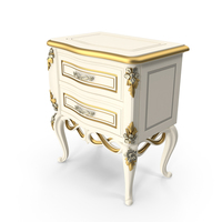 Signorini & Coco Baroque Night Stand PNG & PSD Images