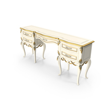Signorini & Coco Forever Dressing Table PNG & PSD Images