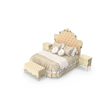 Signorini & Coco Forever Classical Bedroom Set PNG & PSD Images