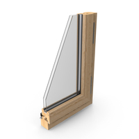 Wood Window Section PNG & PSD Images
