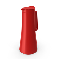 Pavina Red Teapot PNG & PSD Images