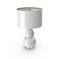 Pop Color Modern Ceramic Table Lamp White PNG & PSD Images