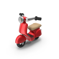 Cartoon Scooter PNG & PSD Images