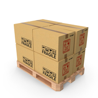 Pallet With Boxes PNG & PSD Images