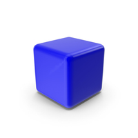 Blue Blank Block PNG & PSD Images