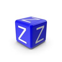 Blue Z Block PNG & PSD Images