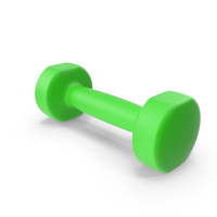 Green Dumbbell PNG & PSD Images