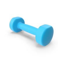 Blue Dumbbell PNG & PSD Images