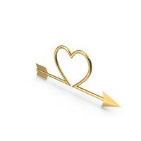 Heart Arrow PNG & PSD Images